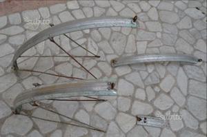 Parafanghi bici epoca corsa Bianchi Folgore CDM