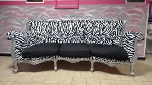 Tavolino tavolo sedie specchiera divano barocco posot class - Divano stile barocco usato ...