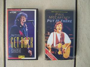 VHS Beatles Paul McCartney da collezione