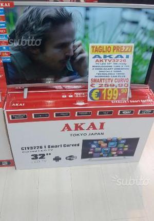Akai tv smart android 4.4 led 32 full hd dvb-t2 cu