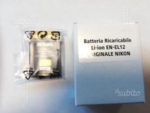 Batteria NIKON ORIGINALE LI-ION EN-EL12