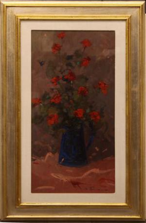 Bruno Tinucci pittore olio su tela