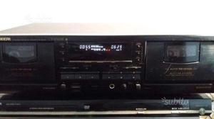 Doppia piastra pioneer cr-w503 deck cassette