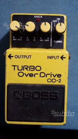BOSS OD-2 Turbo Over Drive - Made in Japan