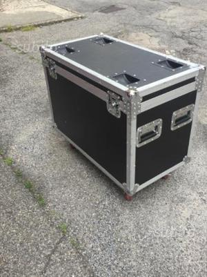Flight case fly case doppio per beam 5r/7r