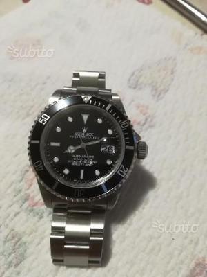 Rolex submariner data R.R.R. superlativo