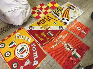 Bandiere AS ROMA anni 80 vintage