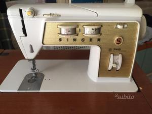 Macchina da cucire SINGER 740 con mobiletto