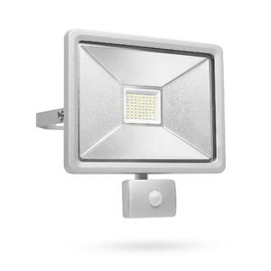 SMARTWARES Luce di Sicurezza LED con Sensore 50 W Grigia