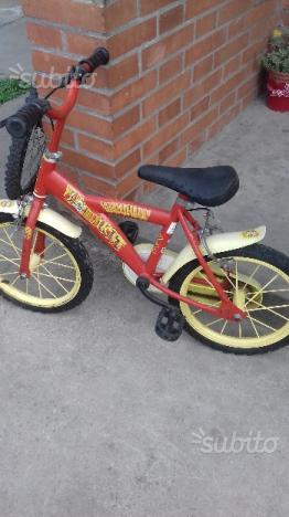 Bici ruote 14 pollici
