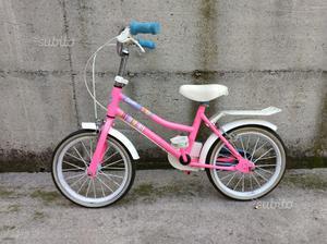 Bicicletta bambina Barbie  anni)