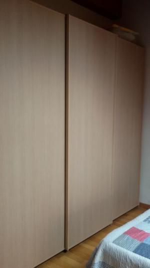 Camera matrimoniale completa in rovere chiaro
