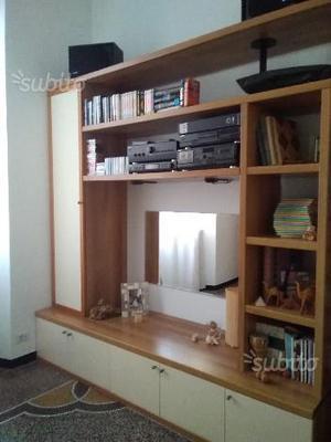 Mobile soggiorno legno ciliegio moderno | Posot Class