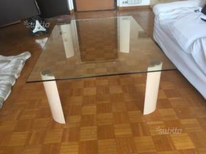 Tavolino Cristallo Natuzzi.Tavolino Design Natuzzi Modello Paxos Posot Class