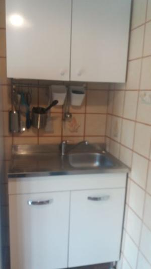 Mobile cucina completo di lavello miscelatore e pensili