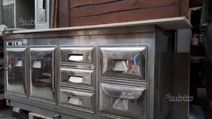 Bancone In Legno Per Pub : Bancone in legno cucina rustica negozio taverna posot class