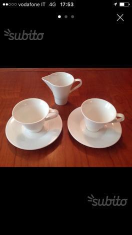 Set tazze con lattiera
