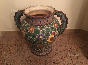 Vaso ceramica ABRUZZO firmato primi 900