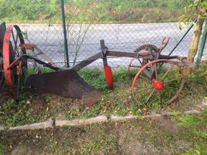 Vintage - Attrezzatura agricola per arredamento giardino
