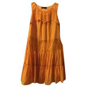 vestito twin set arancio,tg xs