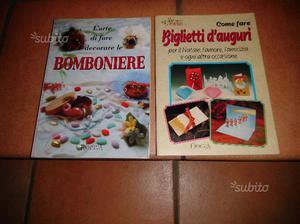 2 Libri su Bomboniere e Biglietti d'Auguri