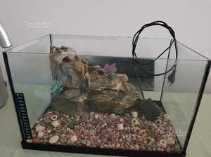 Isolotto per acquario tartarughe posot class for Depuratore acqua tartarughe