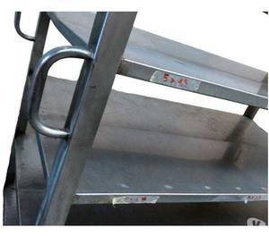 Carrello acciaio inox per ristorazionesupermercato