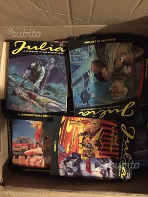 Fumetto Julia Bonelli serie completa da 1 a 100