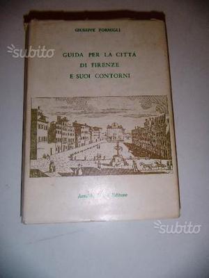 Libro Guida per la Città di Firenze