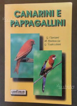 Libro per pappagallini e canarini