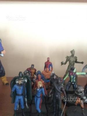 Supereroi Marvel Eaglemoss The Thing la Cosa Piombo Fabbri