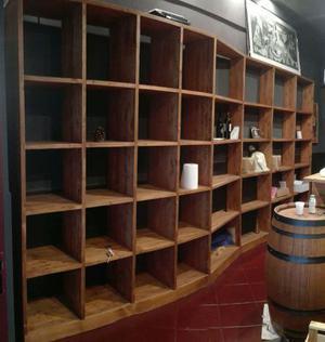 Mobile Libreria in legno massello