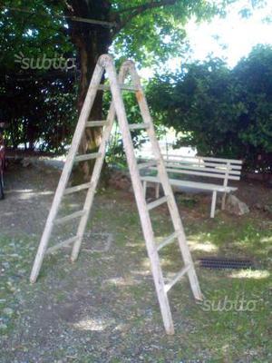 Scala in legno 2mt