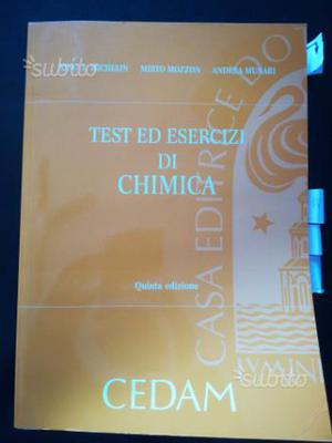 Test e esercizi di Chimica (università) Cedam