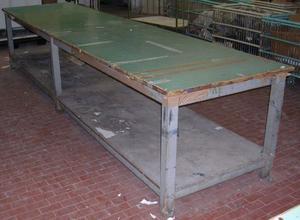Bancone tavolone in legno massello posot class for A tavolone