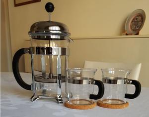 """BODUM """"Chambord"""" caffettiera e 2 tazze, originale"""