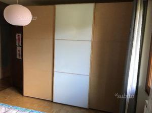 Camera da letto in rovere sbiancato posot class - Vendo camera da letto completa ...