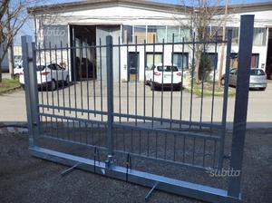 Cancello in ferro zincato a caldo di 300 x 160 h