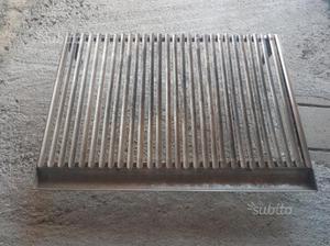 Griglia in acciaio inox per caminetti