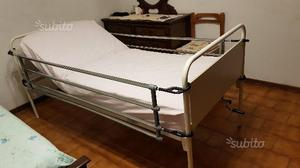Letto ortopedico con manovelle e sponde di posot class - Letto ortopedico con sponde ...