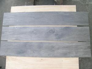 Stok piastrelle effetto pietra colore grigio posot class for Piastrelle rettificate