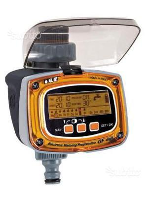 Orologio programmatore digitale posot class for Temporizzatore per irrigazione