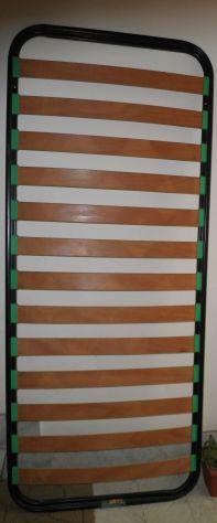 Rete con doghe in legno 80 x 190