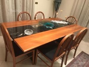 Tavolo moderno in vetro stile barocco milano posot class - Tavolo barocco moderno ...