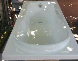 Vasche Da Bagno In Vetroresina Misure : Vasca da bagno ariston posot class