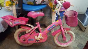 Bicicletta da bambina hello kitty