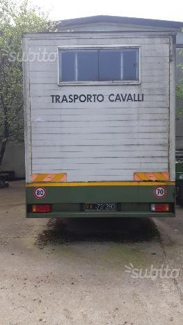 Van trasporto cavalli FIAT 130