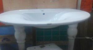 lavabo consolle con piedini in ceramica - hydra - memory