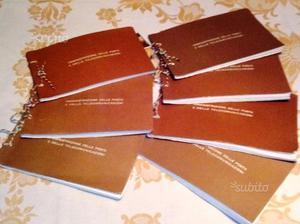 7 ALBUMS FRANCOBOLLI COMMEMORATIVI e CELEBRATIVI