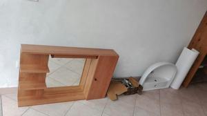 Mobile arredo bagno in legno posot class